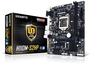 Gigabyte GA-H110M-S2HP, emolevy