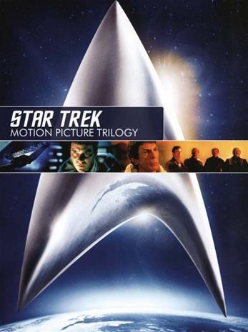 Star Trek - Motion PictureTrilogy (Wrath of Khan, Search for Spock, The Voyage Home), elokuva