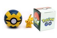 Pokemon Go - Pokeball - Quick Ball + Figur