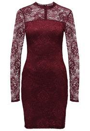 mbyM AGATE Vapaaajan mekko burgundy