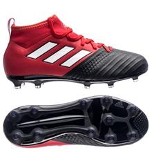 adidas ACE 17.1 FG/AG Red Limit - Punainen/Valkoinen/Musta Lapset