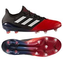 adidas ACE 17.1 Nahka FG/AG Red Limit - Musta/Valkoinen/Punainen