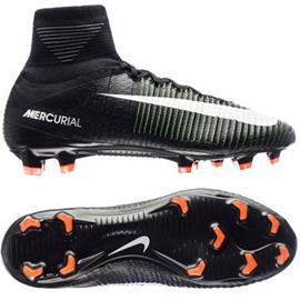Nike Mercurial Superfly V FG Dark Lightning Pack - Musta/Valkoinen/Vihreä