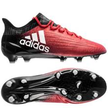adidas X 16.1 FG/AG Red Limit - Punainen/Valkoinen/Musta