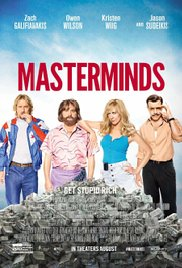 Masterminds (2016, Blu-Ray), elokuva
