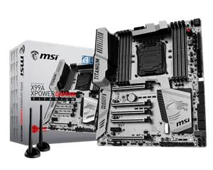 MSI X99A XPower Gaming Titanium, emolevy