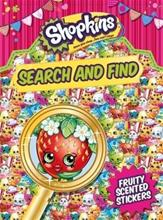 Shopkins Search and Find, kirja