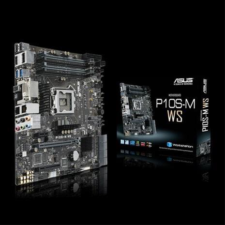 Asus P10S-M WS, emolevy