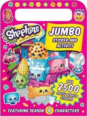 Shopkins Jumbo Sticker and Activity (Sizzle Press), kirja