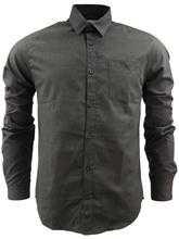 Shine Melange Shirt Black