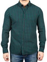 Gabba Brooks Ginham Shirt DK. Green Check