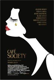 Café Society (2016, Blu-Ray), elokuva
