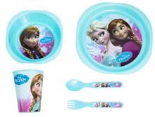 Frozen Breakfast Set (mug, plate, cup, cutlery)