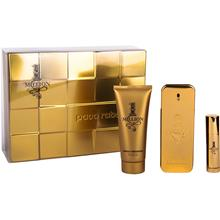 Paco Rabanne 1 Million - EdT 100ml, Shower Gel 100ml, EdT 10ml