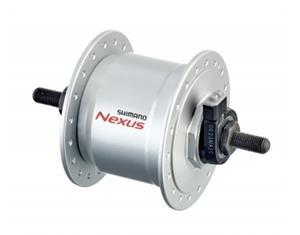 Shimano DH-C3000-3N-NT hub dynamo silver 36 hole