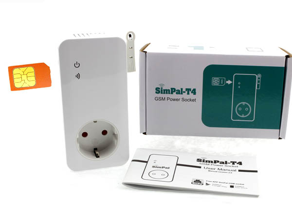 SimPal T4, GSM-pistorasia
