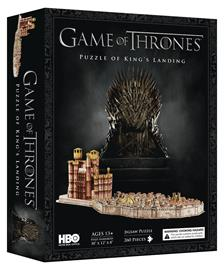4D Cityscape Game of Thrones: King's Landing