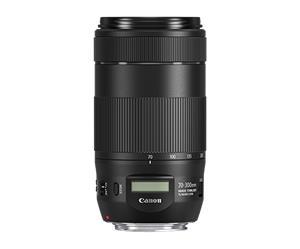 Canon EF 70-300mm f/4-5.6 IS II USM, objektiivi
