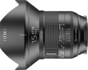 Irix Firefly 15mm f/2.4 IL-15FF, objektiivi