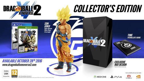 Dragon Ball: Xenoverse 2 - Collector's Edition, Xbox One -peli