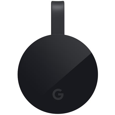 Google Chromecast Ultra, mediatoistin