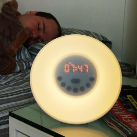 Lumina heräämisvalo / herätyskello