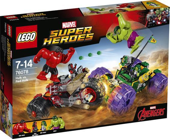 Lego Super Heroes 76078, Hulk vs. Punainen Hulk