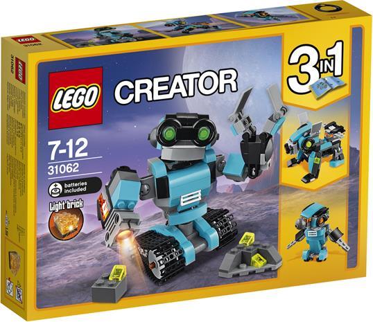 Lego Creator 31062, Robottitutkija