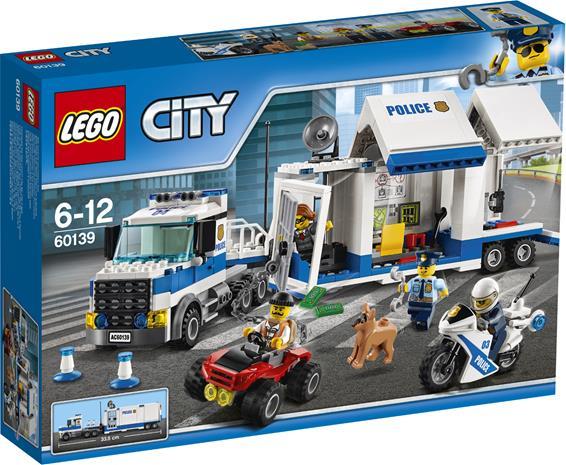 Lego City Police 60139, liikkuva komentokeskus