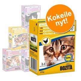 Bozita Chunks -lajitelmat 6 x 370 g - In Gravy & Jelly: lihalajitelma