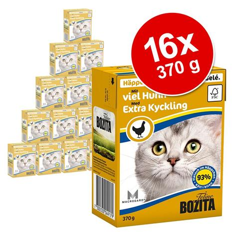 Bozita Chunks in Jelly 16 x 370 g - kolja