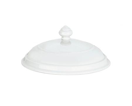 Pillivuyt Kansi valkoinen, keittokulhoon nro 8 22,5 cm