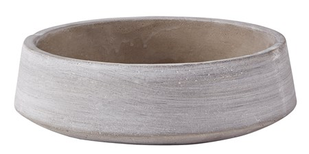 KJ Collection Vati Cement Harmaa 24 cm