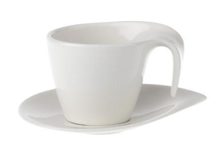 Villeroy & Boch Flow Kahvikuppi&vati 2 osaa