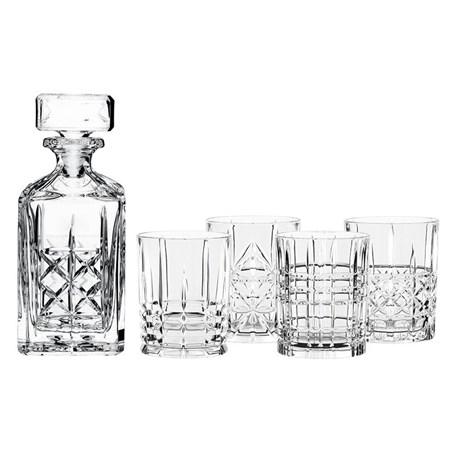 Nachtmann Highland, viskikarahvi 75 cl ja 4 lasia