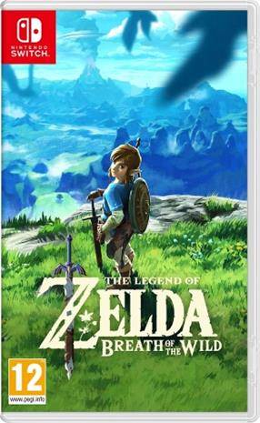 The Legend Of Zelda: Breath Of The Wild, Nintendo Switch -peli