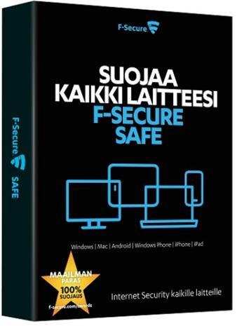 F-Secure SAFE (1 vuosi 10 laitetta), tietoturvaohjelmisto