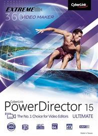 CyberLink PowerDirector 15 Ultimate, ohjelmisto