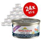Almo Nature Daily Menu -säästöpakkaus 24 x 85 g - tonnikala-kanamousse