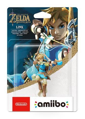 Amiibo Zelda: Breath of the Wild - Link Archer, hahmo