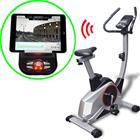 vidaXL Ohjeilmoitava Kuntopyörä XL Liikkuva Massa 10 kg Smart App