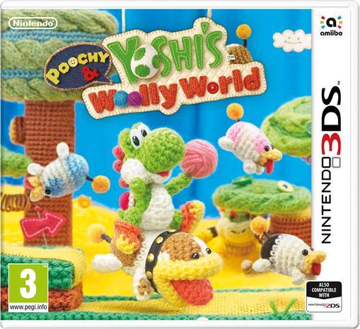 Poochy & Yoshi's Woolly World, Nintendo 3DS -peli