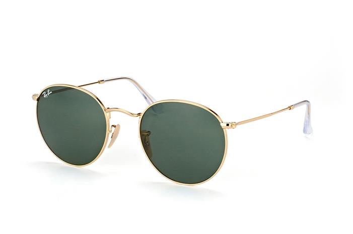 Ray-Ban Round Metal rb3447 001 large, Aurinkolasit