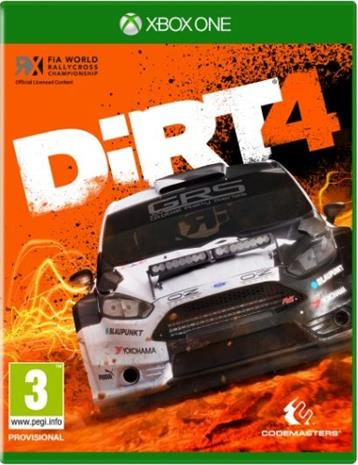 Dirt 4, Xbox One -peli