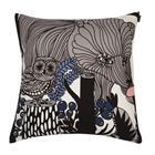 Marimekko Veljekset tyynynpäällinen 50x50 cm harmaa-vaaleanpunainen-sininen