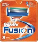 Gillette Fusion, partahöylän terät 8 kpl