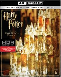 Harry Potter ja puoliverinen prinssi (Harry Potter and the Halfblood Prince,4k uhd + Blu-Ray), elokuva