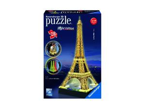 Eiffel Tower Night Edition 3D-palapeli