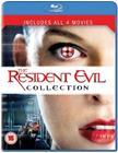Resident Evil 1-4 (Blu-Ray), elokuva