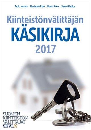 Kiinteistönvälittäjän käsikirja 2017, kirja